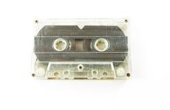 Alte benutzte Audiokassette Stockfotografie
