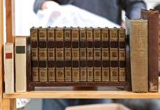 Alte benutzte Bücher Lizenzfreie Stockfotografie