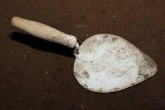 Alte benutzte Spachtel für Reparatur Stockfoto