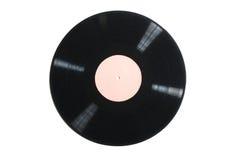 Alte benutzte Vinylaufzeichnung Stockfoto