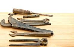 Alte benutzte Werkzeuge Lizenzfreie Stockfotografie