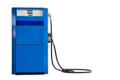 Alte Benzinpumpe Lizenzfreie Stockfotos