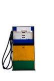 Alte Benzinpumpe Lizenzfreies Stockfoto