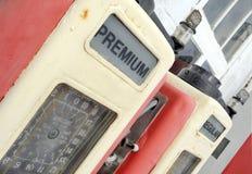 Alte Benzinpumpe Stockbild