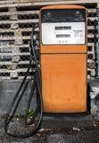 Alte Benzinpumpe Stockfoto