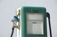 Alte Benzinstation stockfotografie