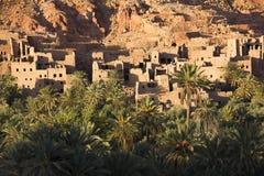 Alte Berber-Stadt von Tinghir in Marokko lizenzfreies stockfoto