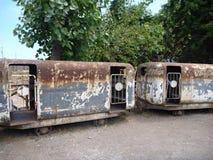 Alte Bergbauwerkzeuge im Lotamuseum im Paprika Stockfoto