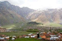 Alte Bergdörfer in Giorgia Lizenzfreie Stockbilder