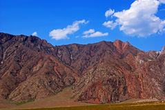 Alte Berge blutig Lizenzfreies Stockfoto
