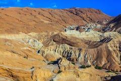 Alte Berge des Toten Meers Stockfotografie