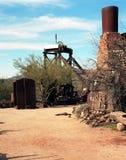 Alte Bergwerk-Ausrüstung Lizenzfreies Stockbild