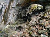 Alte Bergwerk-Funktionen Stockbild