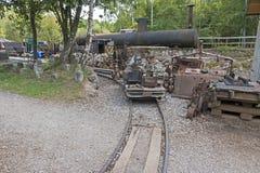 Alte Bergwerk-Maschinen Lizenzfreie Stockfotografie