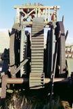 Alte Bergwerksausrüstung Stockfotos