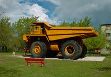 Alte Bergwerksausrüstung Stockfoto