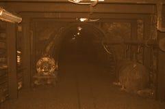 Alte Bergwerkweinleseart Lizenzfreie Stockbilder