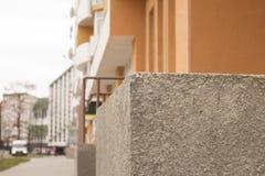 Alte Beschaffenheit der grauen Betonmauer Lizenzfreies Stockbild