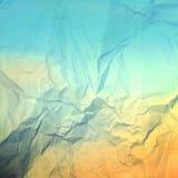 Alte Beschaffenheit des blauen Papiers als grunge Hintergrund Stockfotografie