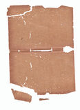 Alte Beschaffenheit des braunen Papiers Stockfotos
