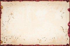 Alte Beschaffenheit des braunen Papiers Stockbild