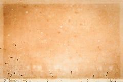 Alte Beschaffenheit des braunen Papiers Lizenzfreies Stockbild