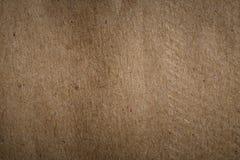 Alte Beschaffenheit des braunen Papiers für Gebrauch als Hintergrund im Design Stockfotos