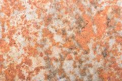 Alte Beschaffenheit des Metalleisen-Rosts mit buntem Stockbild