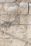 Alte Beschaffenheit des Zementes oder des Steins als Retro- Musterwand Stockbild