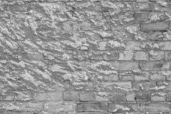 Alte Beschaffenheit einer Backsteinmauer und des Hintergrundes Stockfotografie