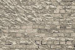 Alte Beschaffenheit einer Backsteinmauer und des Hintergrundes Lizenzfreies Stockbild