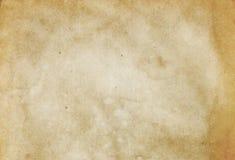 Alte beschmutzte Papierbeschaffenheit Stockfoto