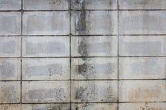Alte Betonblockwand Stockfotografie