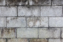 Alte Betonblockwand Lizenzfreie Stockfotos