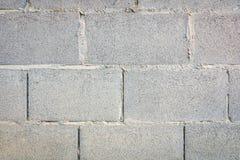 Alte Betonblockwand Lizenzfreie Stockfotografie