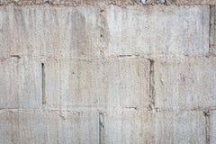 Alte Betonblockwand Lizenzfreies Stockbild