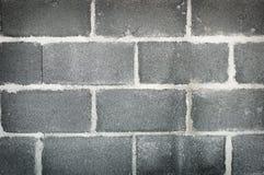 Alte Betonblockwand-Hintergrundbeschaffenheit Lizenzfreie Stockfotografie