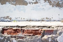 Alte Betonmauer Lizenzfreie Stockfotografie