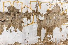 Alte Betonmauer Lizenzfreie Stockbilder