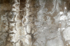 Alte Betonmauer Stockbild
