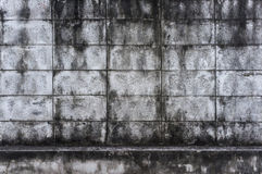 Alte Betonmauer Stockfoto