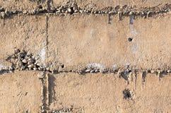 Alte Betonmauer als abstrakter Hintergrund Lizenzfreies Stockfoto