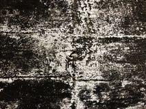 Alte Betonmauer der Beschaffenheitsschwarzweiss-Wand Stockbilder