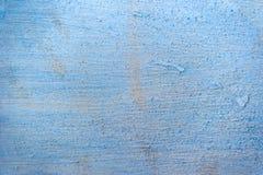 Alte Betonmauer der blauen Beschaffenheit des Schmutzes Stockbilder