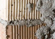 Alte Betonmauer des abstrakten Hintergrundes Lizenzfreies Stockbild
