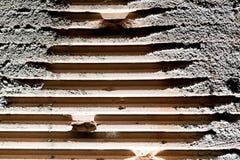 Alte Betonmauer des abstrakten Hintergrundes Stockbild