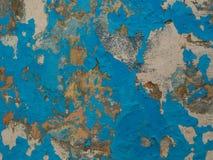 Alte Betonmauer mit alter Farbe Lizenzfreie Stockbilder