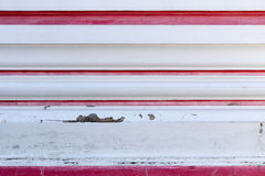 Alte Betonmauer mit der Schale gemalt Lizenzfreie Stockfotografie