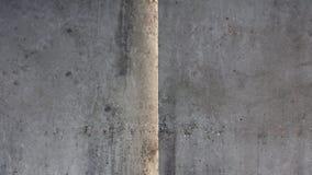 Alte Betonmauer mit Naht Lizenzfreie Stockfotografie