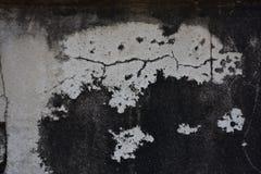 Alte Betonmauer mit schönem Muster Lizenzfreie Stockfotografie